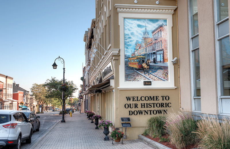 Welcome to Our Historic Downtown