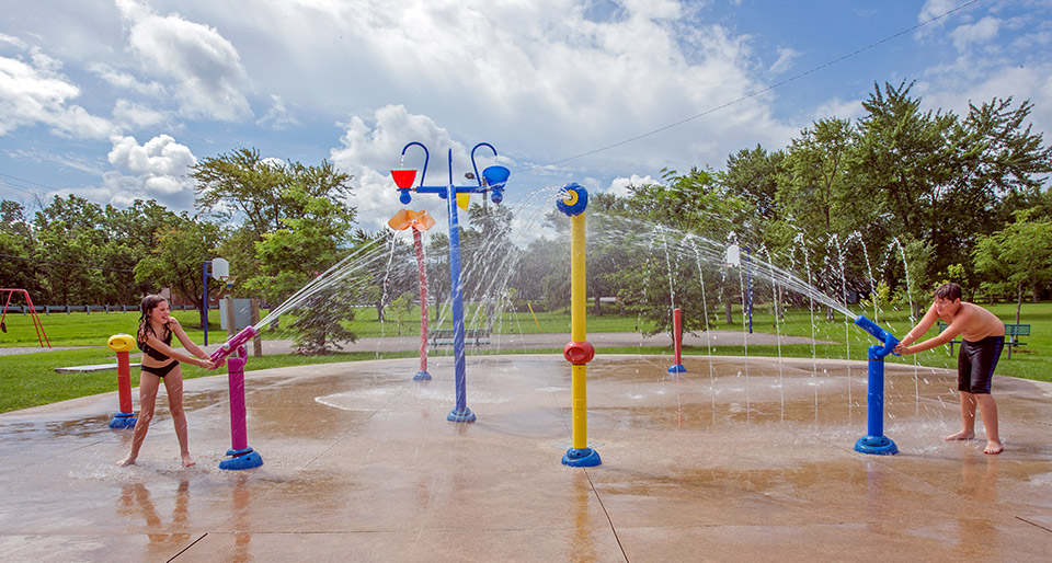 Port Robinson Splash Pad, Thorold